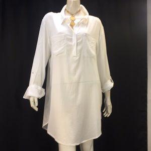 Heidi Klein White tunic Dress